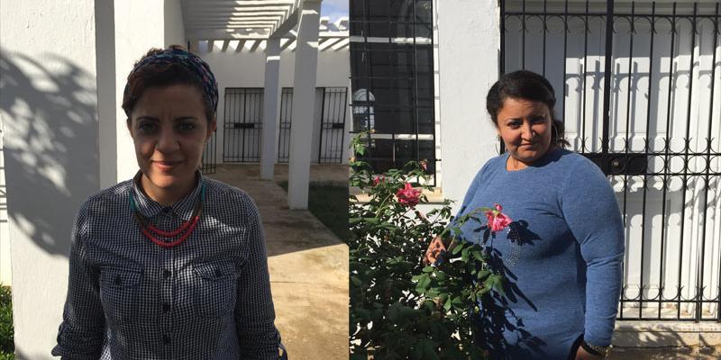 Marwa Brinis, socialarbejder / Fatma Zahra, coach